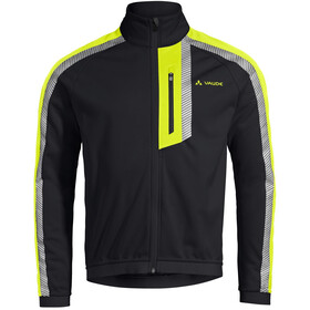VAUDE Luminum II Softshell Jacke Herren black/yellow